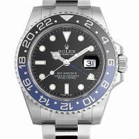ROLEX(ロレックス) GMTマスターII 116710BLNR ステンレススティール/SS ブラ...