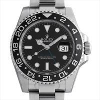 ROLEX(ロレックス) GMTマスターII 116710LN ステンレススティール/SS ブラック...