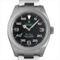ROLEX(ロレックス) エアキング 116900 ステンレススティール/SS ブラック/Black...