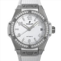 HUBLOT(ウブロ) ビッグバン ワンクリック スチールホワイトダイヤモンド 465.SE.201...