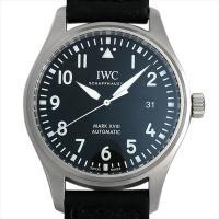 IWC パイロットウォッチ マーク18 IW327001 ステンレススティール/SS ブラック/Bl...