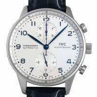 IWC(IWC) ポルトギーゼ クロノグラフ IW371446 SS  シルバー/Silver 自動...