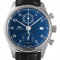 IWC ポルトギーゼ クロノグラフ クラシック IW390303 ステンレススティール/SS ブルー...