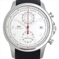 IWC ポルトギーゼ ヨットクラブ クロノグラフ IW390502 ステンレススティール/SS シル...