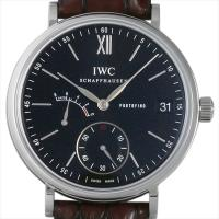IWC ポートフィノ ハンドワインド 8DAYS IW510102 ステンレススティール/SS ブラ...