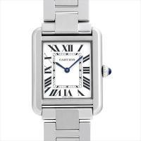 カルティエ(Cartier) タンクソロ SM W5200013 SS  シルバー/Silver ク...