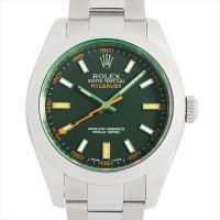 ROLEX(ロレックス) ミルガウス 116400GV ステンレススティール/SS ブラック/Bla...