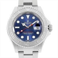 ROLEX(ロレックス) ヨットマスター ロレジウム ブルー 116622 ステンレススティール/S...