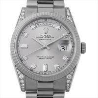 ROLEX(ロレックス) デイデイト 10Pダイヤ ラグダイヤ 118339A ホワイトゴールド/W...