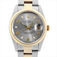ROLEX(ロレックス) オイスターパーペチュアル デイト 15203 ステンレススティール/SS×...