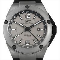 IWC インヂュニア デュアルタイム チタニウム IW326403 チタン/TI グレー/Gray ...