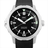 IWC アクアタイマー オートマティック IW329001 ステンレススティール/SS ブラック/B...