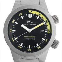 IWC アクアタイマー IW353803 チタン/TI ブラック/Black 自動巻き/Self-W...