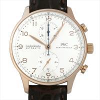 IWC ポルトギーゼ クロノグラフ IW371402 ピンクゴールド/PG シルバー/Silver ...