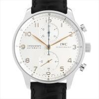 IWC ポルトギーゼ クロノグラフ IW371445 ステンレススティール/SS シルバー/Silv...