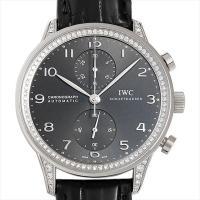 IWC ポルトギーゼ クロノグラフ ダイヤモンドコレクション IW371474 ホワイトゴールド/W...