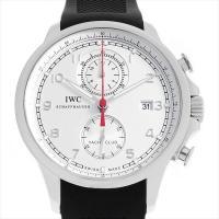 IWC ポルトギーゼ ヨットクラブ IW390211 ステンレススティール/SS ホワイト/Whit...