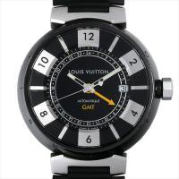 LOUIS VUITTON(ルイヴィトン) タンブール インブラック GMT Q113K ステンレス...