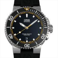 Oris(オリス) アクイス デイト 733 7653 4127R ステンレススティール/SS×セラ...
