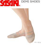 SASAKIのデミシューズは意匠登録、 及び実用新案を取得した製品です。ストレッチニット素材を採用し...
