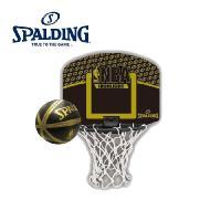 NBAのチームロゴが入ったマイクロミニセット(ミニゴールとミニボール付き)バスケットボールゴールご家...