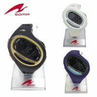 セイコー SOMA ランニングウォッチ RUNONE100SL DWJ08 ラージサイズ 腕時計 メ...