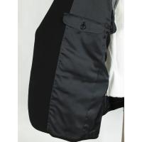 黒 無地 シングル2つボタンスーツ【アウトレット価格】
