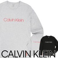 Calvin Klein Monogram Lounge カルバンクライン モノグラム ラウンジ コットン 長袖 Tシャツ NM1557AD ポイント10倍 メール便不可