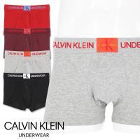 Calvin Klein カルバンクライン モノグラム コットン ボクサーパンツ Monogram Cotton NB1678 ポイント10倍
