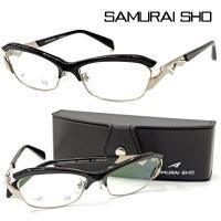 【SAMURAI SHO】サムライ翔 リラックスライン 仁 ss-J28 col.2 メガネ 度無ダ...