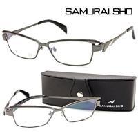 【SAMURAI SHO】サムライ翔 ビジネスライン 智 ss-T30 col.3 メガネ 度無ダテ...