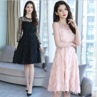 上品でエレガントなワンピース。 結婚式やパーティーのドレスにいかがですか。   【商品詳細】 ◆素材...