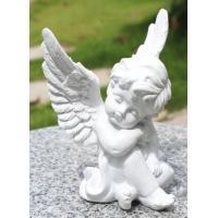 大きく羽根を広げ、膝を抱えて休む天使と、頬杖をつく天使の2デザインあります♪ ちょっと珍しい大きめの...