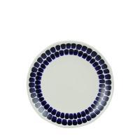 【お盆もあすつく】Arabia アラビア Tuokio トゥオキオ Plate flat プレート(丸皿 26 cm 8382 Cobalt blue コバルトブルー 北欧 プレート