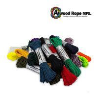 アトウッド Atwood タクティカル コード 4 STRAND TACTICAL CORD ロープ 100フィート 2.4mm × 30m パラシュートコード パラコード