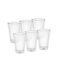 ボダム Bodum グラス キャンティーン ダブルウォールグラス 400mL 6個セット 保温 保冷 10110-10-12