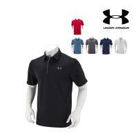 【お盆もあすつく】アンダーアーマー Under Armour メンズ ポロシャツ ゴルフ テックポロ 1290140 ゴルフウェア ポロ ラッピング対象外