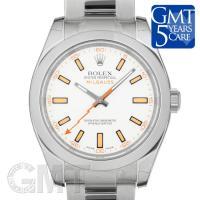 ロレックス ミルガウス Ref.116400 ホワイト ROLEX MILGAUSS ロレックスの伝...