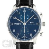 【2017年新作】IWC ポルトギーゼ クロノグラフ IW371491  ブルー IWC PORTU...