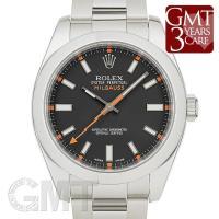 ロレックス ミルガウス 116400 ブラック ROLEX MILGAUSS