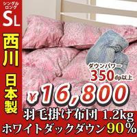 【品質表示】 サイズ  150×210(シングルロング) --- 中材  ホワイトダックダウン90%...
