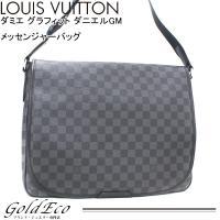 LOUIS VUITTON【ルイ ヴィトン】ダミエ グラフィット ダニエルGM N58033 斜め掛...