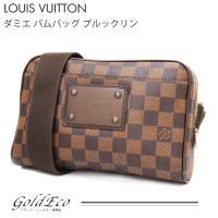 LOUIS VUITTON【ルイ ヴィトン】ダミエ バムバッグ ブルックリン N41101 ダミエキ...