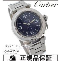 【送料無料】【美品】Cartier【カルティエ】パシャC ビッグデイトボーイズ腕時計【中古】W310...