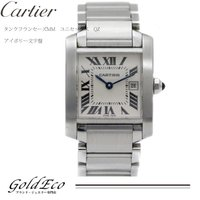 【送料無料】Cartier【カルティエ】タンクフランセーズMMユニセックス クォーツW51011Q3...