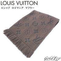 LOUIS VUITTON【ルイヴィトン】 モノグラム エシャルプ ロゴマニア マフラー M7224...