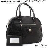 【送料無料】 BALENCIAGA 【バレンシアガ】 ボストンバッグ カーフスキン 314459 ブ...
