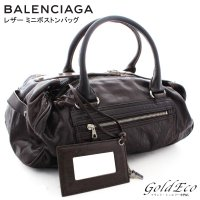 BALENCIAGA 【バレンシアガ】 ミニ ボストンバッグ ハンドバッグ 168033 ヴィンテー...