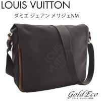 【送料無料】LOUIS VUITTON【ルイヴィトン】ダミエジュアンメサジェNMメッセンジャーバッグ...