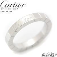 【新品仕上げ済】 【送料無料】 Cartier 【カルティエ】 ラニエール リング K18 WG 7...